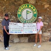 Molly Davidson Wins Jr. Golf Tournament